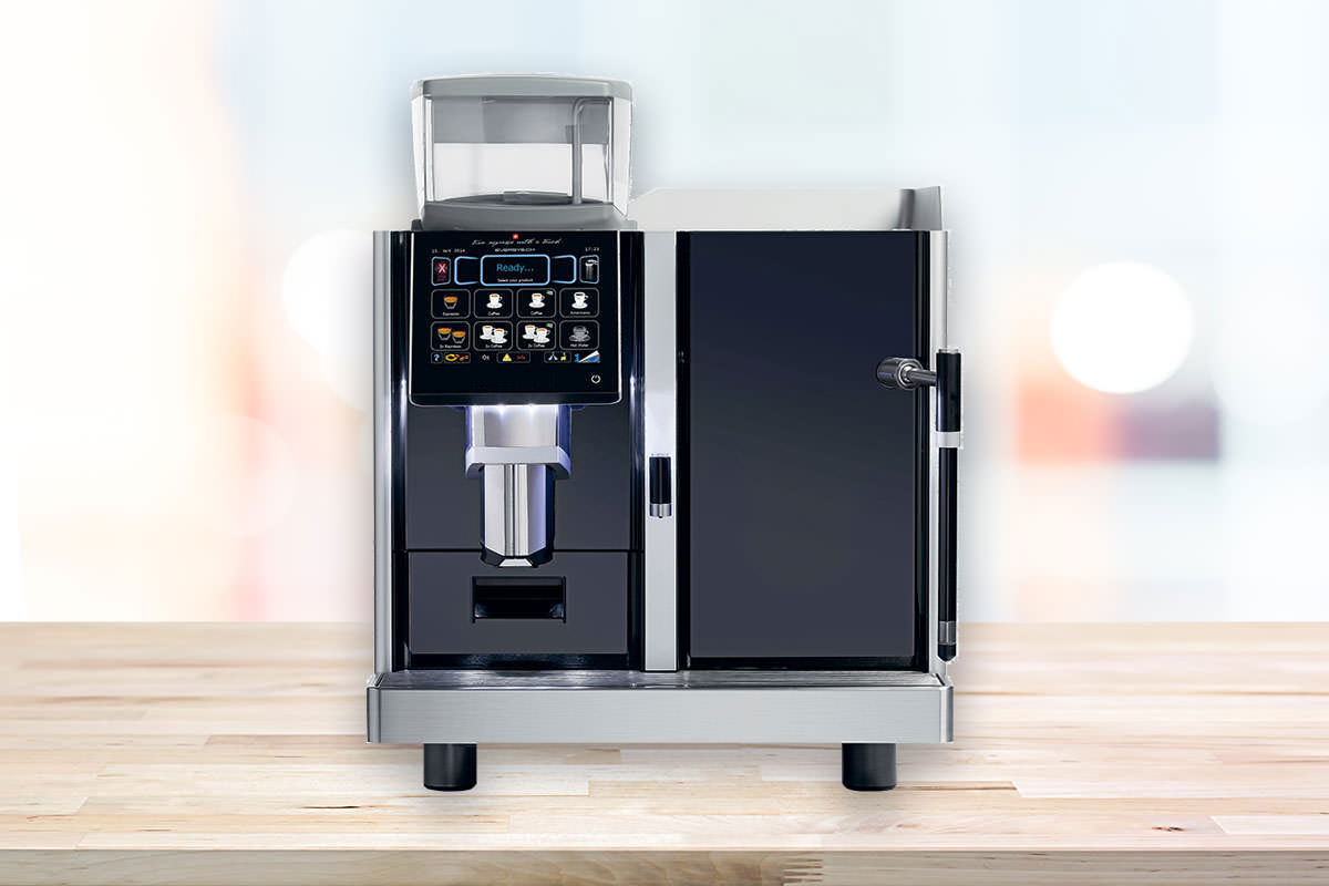 Eversys bean to cup coffee machine
